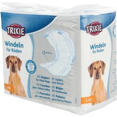 Trixie Pieluchy Pampersy Dla Psa Samców L-XL 23643