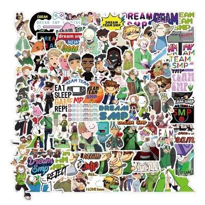 100 sztuk Zestaw Dream smp Graffiti Naklejki Mix