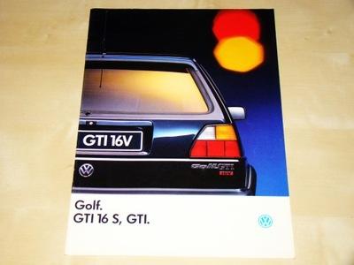 Volkswagen Golf GTi 16S & GTi 1990