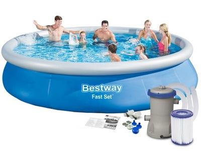 Bazén Bestway dištančné 457x84 cm s čerpadlom