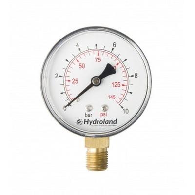 Manometer 63 1/4 6 bar bottom Radial