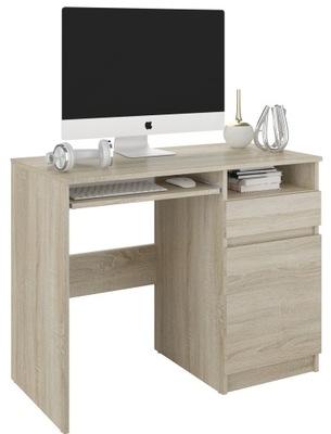 Meble biurko komputerowe stolik 96cm sonoma N35