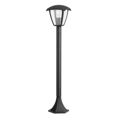 VEĽKÉ poschodí lampa lampa LED E27 black POLUX