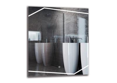 Zrkadlá (LED) Zrkadlo s LED svetlá kúpeľňa 60x70 M1ZD-43