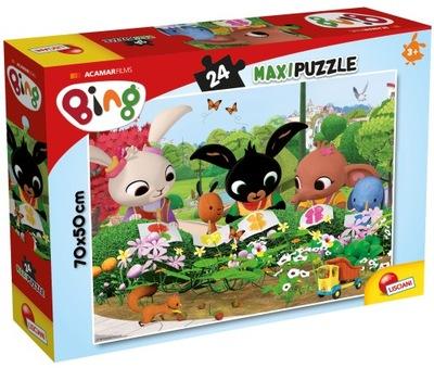 Puzzle Lisciani BING 24el MAXI 70x50cm PRÍRODY