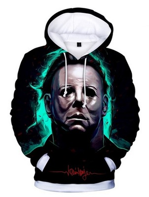 Bluza z kapturem Michael Myers UNIKAT LATO XXL 44