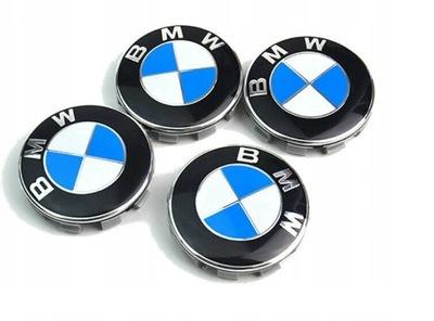 4X КОЛПАЧОК КОЛПАЧОКEK КОЛПАЧОК EMBLEMAT ДИСКОВ BMW 68MM