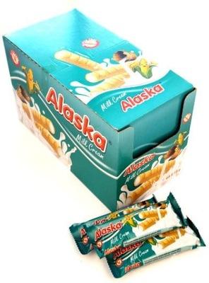 трубочки хлопья с молочным кремом Аляска 48 штук