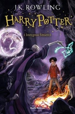 Insygnia Śmierci. Harry Potter. Tom 7. JK. Rowling