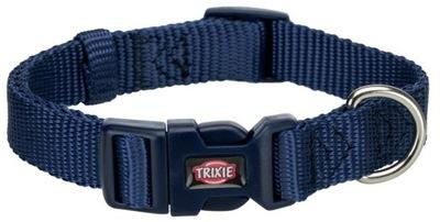 Trixie Obroża nylonowa PREMIUM dla psa S-M; Indygo