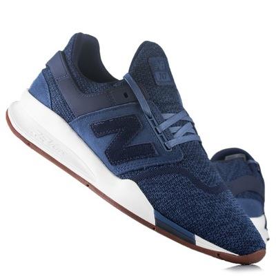 Buty sneakersy, sportowe New Balance MS247KK