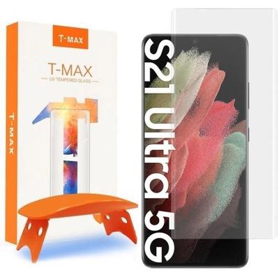 Szkło T-Max do Galaxy S21 Ultra 5G, 3D UV Lamp