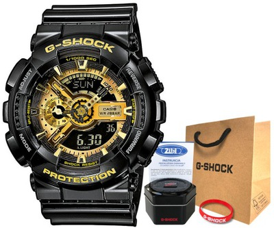 Zegarek Casio G-SHOCK GA-110GB-1AER 20BAR hologram