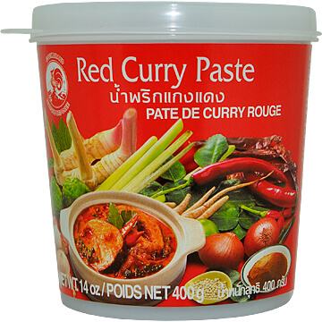 [M] Pasta curry czerwona Cock, 400 g