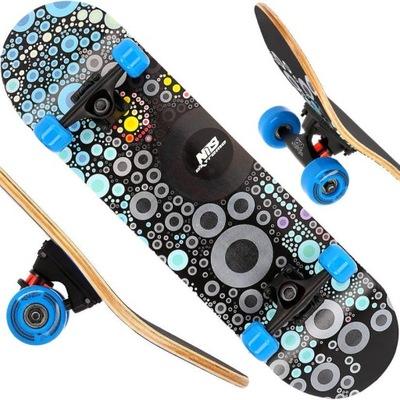 Deskorolka Deska Klasyczna Drewniana Skateboard