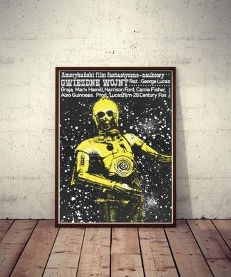Плакат Звездные Войны Звездные войны C3PO 1977/2020