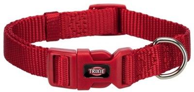 Trixie Obroża nylonowa dla psa XXS-XS; Czerwony