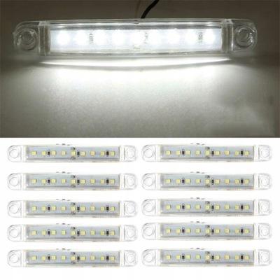 10X ЛАМПОЧКИ ФОНАРИ ГАБАРИТНИЕ ГАБАРИТ 9 LED (СВЕТОДИОД ) 12V 24V