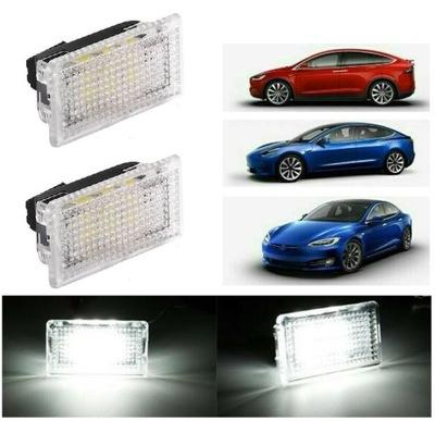 Светодиодные светильники Двери Бардачок Багажника TESLA X S 3
