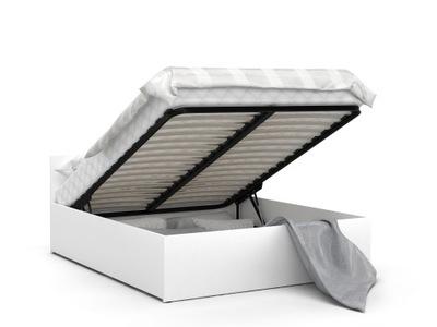 кровать Поднимать белый ПАНАМА 120х200 + Матрас
