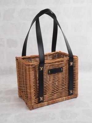Корзина сумочка плетеная покупками - hand made .