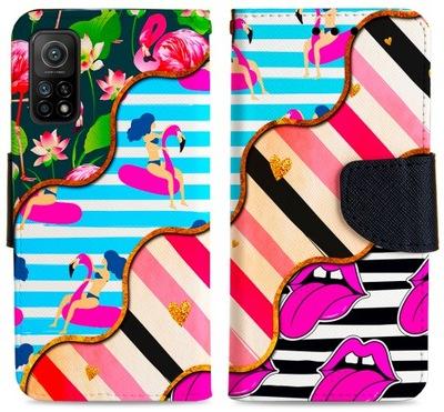 Etui FOTO Portfel Do Xiaomi Mi 10T / 10T Pro Szkło