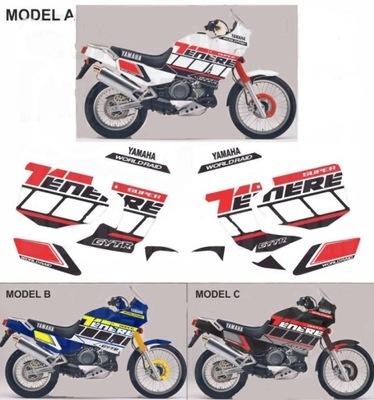 Naklejki Yamaha XTZ 750 SUPER TENERE FACTORY RAC.