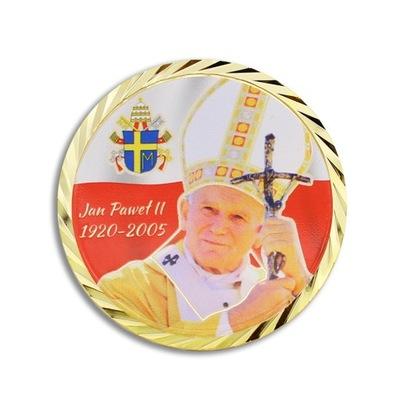 Медаль, Монета 100 .г. день рождения Святого ??? Павла II