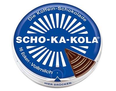 Czekolada Scho-Ka-Kola mleczna z kofeiną