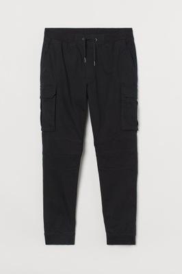 Spodnie Bawełniane joggersy cargo H&M r.M