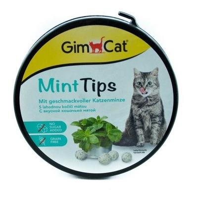 Лакомство GimCat Cat -MINTIPS кошачья мята 330szt/200г