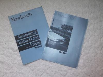 ОРИГИНАЛНЫЕ PROSPEKT MAZDA 626 1985R.