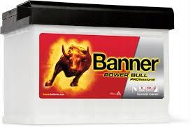 BANNER POWER BULL PRO 63Ah 620A
