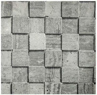 Обои 3D instagram кубики геометрическая бетон