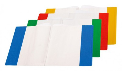 Okładka na zeszyt A5 PVC MIX (5szt)