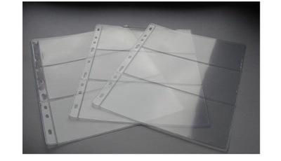 Strony do albumu na banknoty A4 typ 3 MM-SCHULZ