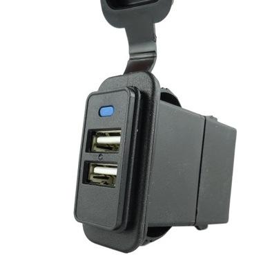 двойные Гнездо USB ??? кадров 37x21mm