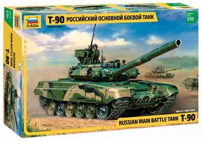1 :35 Звезда 3573 Т-90 Russian MBT