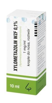 Krople do nosa Xylometazolin 0,1% x 10ml