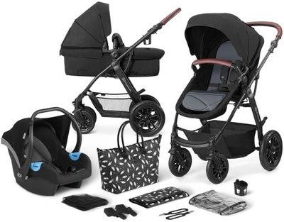 Kinderkraft XMOOV wielofunkcyjny wózek 3w1 | Black