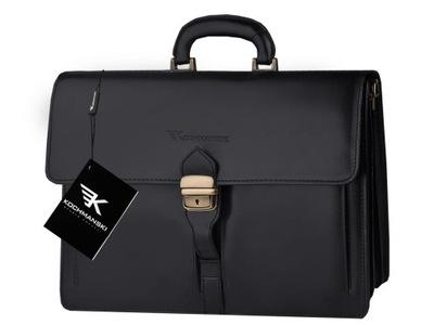 Teczka torba na laptopa 15,6 skórzana KOCHMANSKI