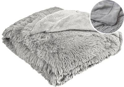 одеяло WŁOCHACZ МОХНАТЫЙ ПЛЕД ПОКРЫВАЛО НА кровать 160х200