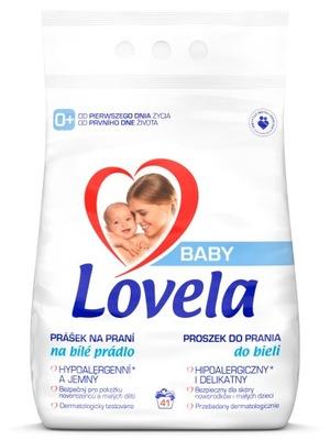 Lovela BABY Proszek Dzieci do Prania Białego 4,1kg