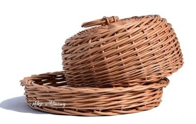 CHLEBAK Wiklinowy Kosz na chleb NA PIECZYWO