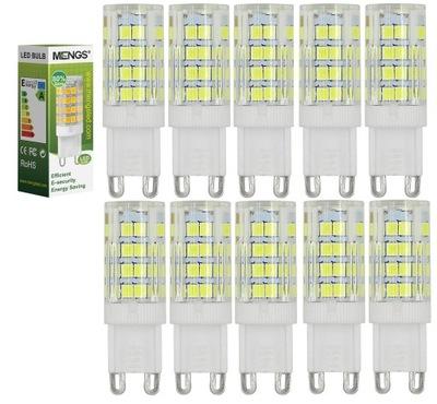 Żarówka LED G9 5W=40W Zimna Biel 10 SZTUK MENGS