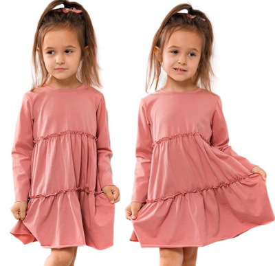 Sukienka PRINCESS - 104 RÓŻOWA -BAYA