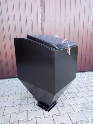 KONTAJNER, KRMIVA, EKO ŠEDÁ, 3 mm