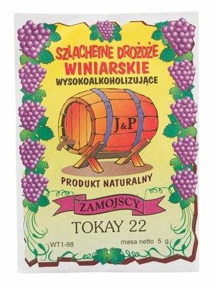 Drożdże winiarskie Tokay 17% Zamojscy