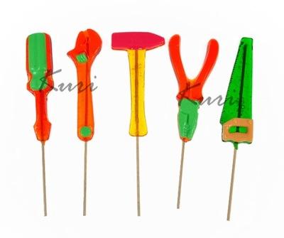 Lizaki słodkie narzędzia prezent Dzień Chłopaka