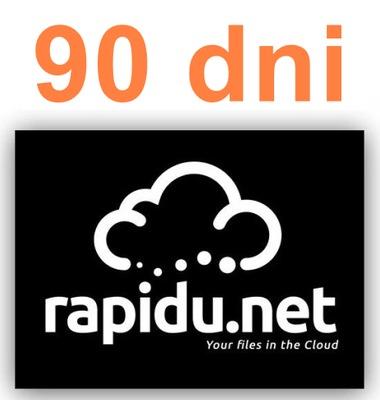 RAPIDU.NET 90 DNI KONTO PREMIUM DO GET2FILE